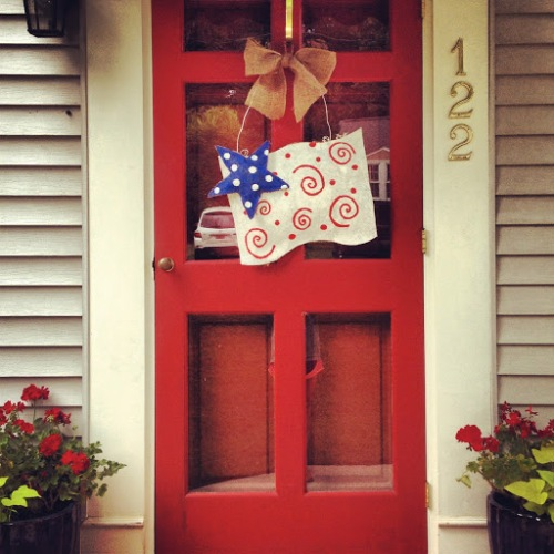 Patriotic wreath...How-to!
