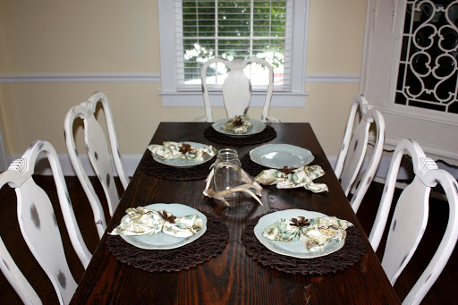 Chalk Paint Dining Room Table. Chalk paint obsession  Complete dining room chair set Life in high cotton