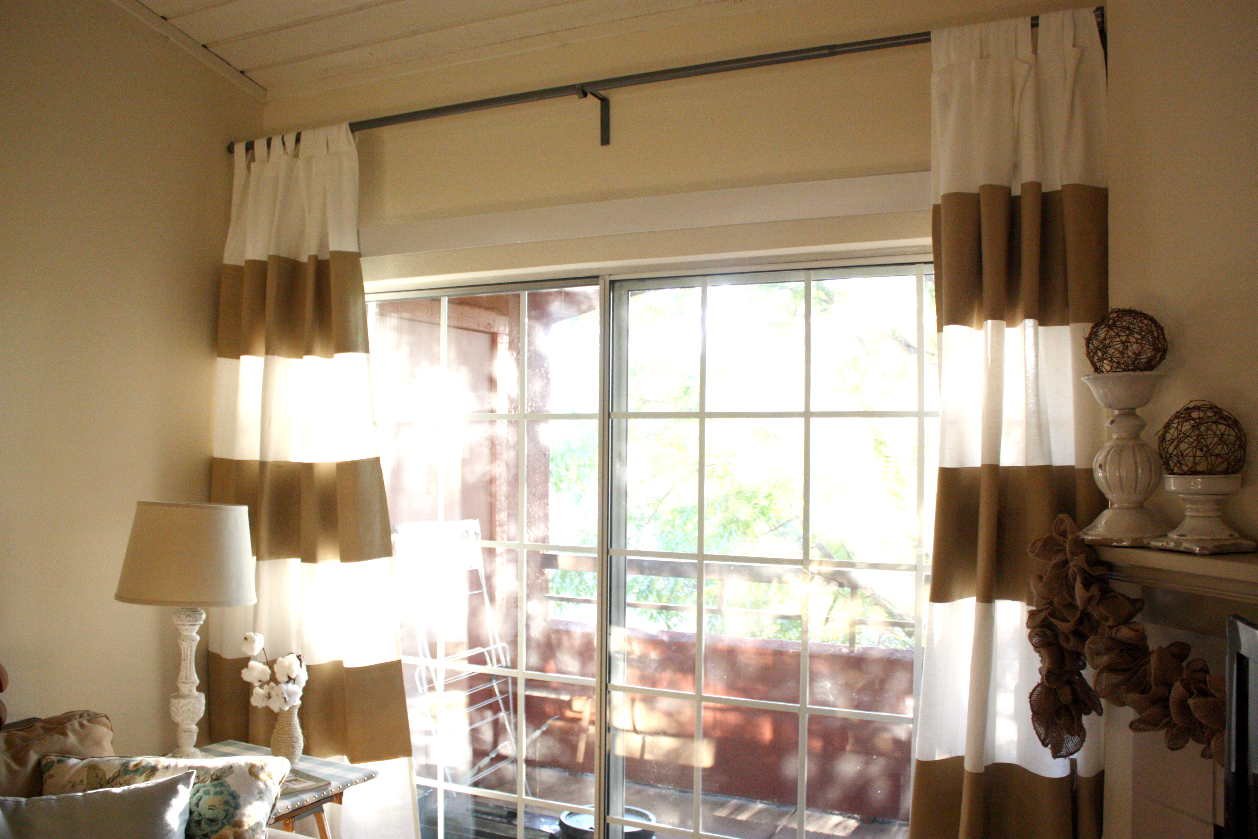 Hand-painted curtains…How-to! | Life in high cotton